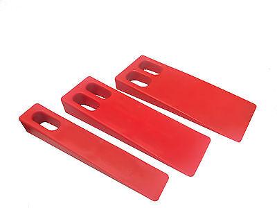 Plastic Wedge For Feeder Set Of 3 Offset Printing Equipment