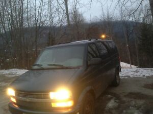 2002 Chevy Astro AWD