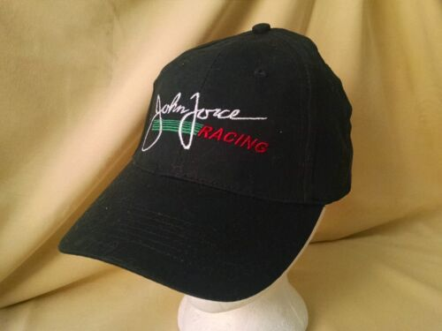 JOHN FORCE RACING HAT BASEBALL BALL CAP CASTROL BLACK ADJ STRAPBACK NEW COTTON.