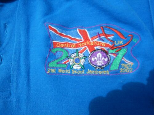 Central Yorkshire contingent 2007 World Scout Jamboree polo shirt
