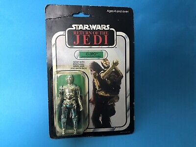 SEALED C-3PO Removable Limbs Carded Figure Vintage Star Wars RotJ MOC Palitoy