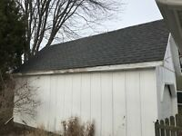 Need garage eavestrough replaced with new one