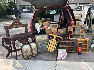 Garage Sale w/ antiques, collector items