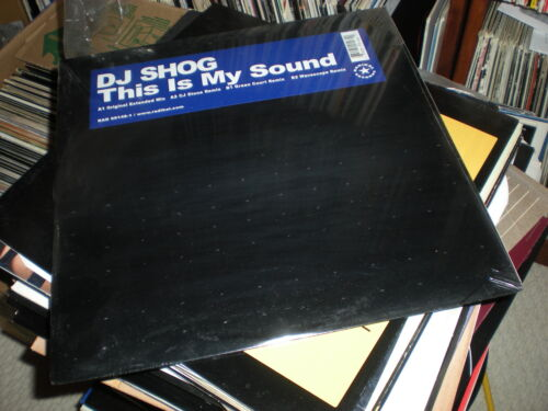 "DJ Shog This is My Sound NEW 12"" VINYL CJ Stone, Green Court, Wavescope, orig"