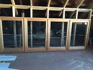 Cedar 4 panel window casement. Brand New  // never used Thornbury Darebin Area Preview
