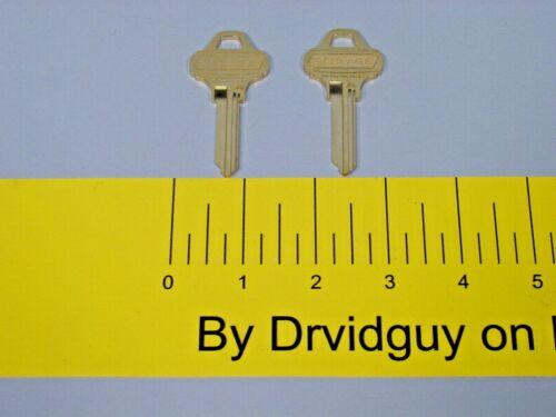 Pair of Schlage 35-003C123 Everest Control Key Blanks; C123