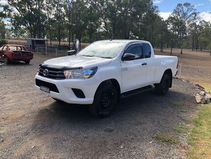 2018 Toyota Hilux Black Steel Rims Tyres Brand New