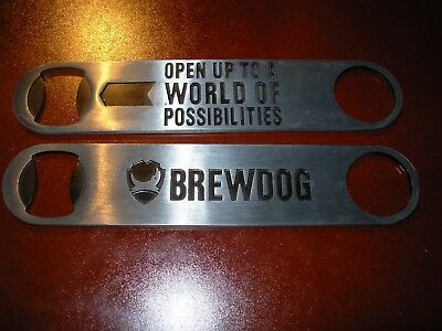 Brewdog Brew Dog Brewing Paddle Logo Bottle Opener Craft Beer Brewing Brewery
