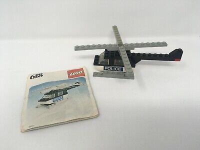 Lego 618 Police Helicopter Legoland vintage 1970s 618-1 like 628