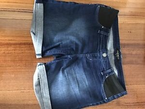 Maternity jean shorts size 14 Dandenong North Greater Dandenong Preview