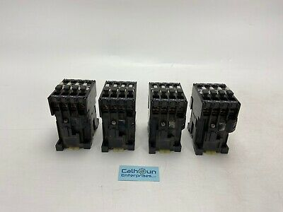 Lot Of 4 Abb B16-30-10 Contactor 600v Coil 110120v 5060hz Warranty
