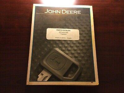 John Deere 420 And 430 Tractor Parts Catalog Manual
