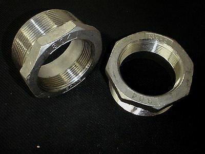 Stainless Steel Bushing Reducer 2 12 X 2 Bspt Pipe Bs-250-20-bsp