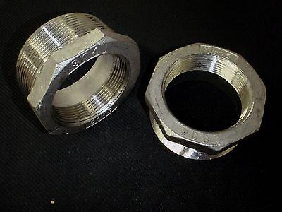Stainless Steel Bushing Reducer 2 12 X 2 Bspt Pipe Bs-250-20-bsp