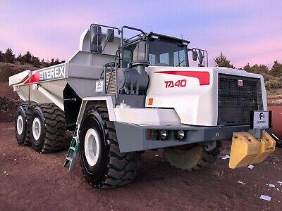 Terex Ta40 Articulating Dump Truck