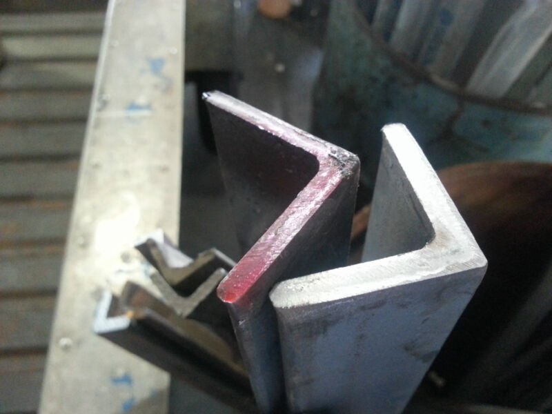 """.250 1/4"""" 3"""" x 3"""" Stainless Steel Angle Iron x 12"""""""
