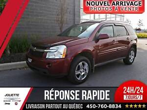 2009 Chevrolet Equinox LT, 4X4,TOIT, HITCH.