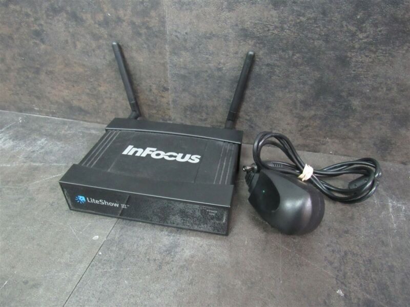 InFocus LiteShow III INLITESHOW3 Wireless Display Presentation Adapter