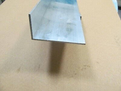6063 T52 Aluminum Arch Angle 2x 4x 15.5 Long 18 Thick