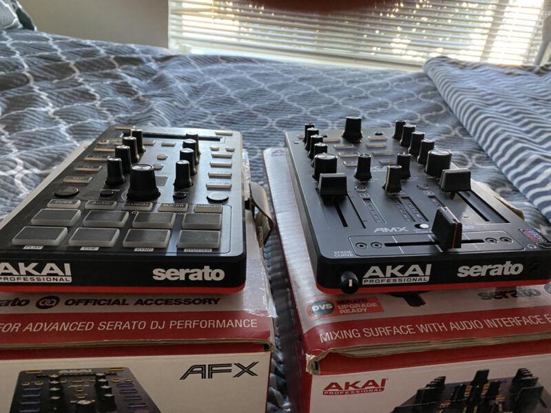 Akai AMX & AFX *serato dvs Mixer* (Selling Both)