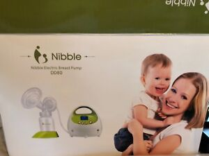 Nibble Breastpump, Single with 1 bottle.