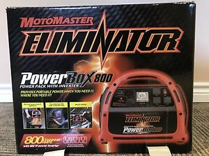 Motomaster Eliminator Power Box