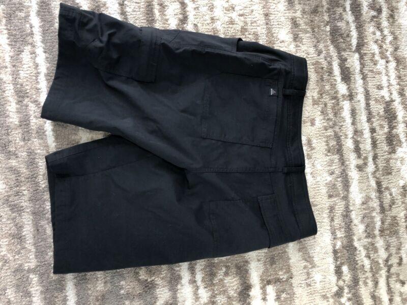 Prana Stretch Zion Shorts Charcoal  12 inch inseam 33W