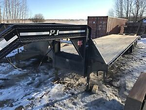 2008 PJ 32' triple dual trailer