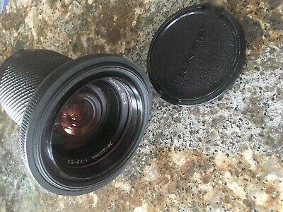 Tokina SZ-X 28-200mm f3.5-5.5 Zoom Manual Lens