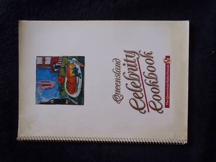 QLD CELEBRITY COOK BOOK. DATED 1989