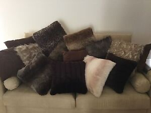 Faux fur cushions Templestowe Lower Manningham Area Preview