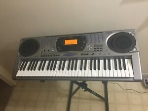 Casio Keyboard Piano with Power adapter