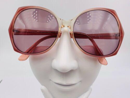 Vintage Audrey Pink Oval Sunglasses Hong Kong FRAMES ONLY