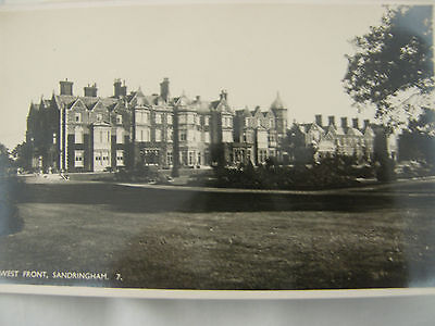 5 Postcards, Sandringham, Probably 1930s, Unposted, Real Photographs