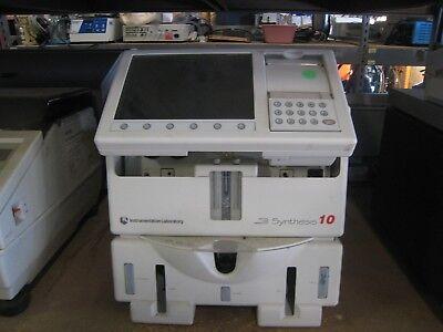 Instrumentation Laboratory Critical Care Laboratory Blood Gas Analyzer