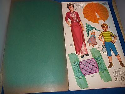 "Vintage Antique Golden Funtime Paper Doll Books Disney's ""Pollyanna"" (1960)"