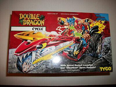Tyco Double Dragon Vintage 90s Figure MOC Sealed CYCLE Vehicle (Dragon Vehicle)