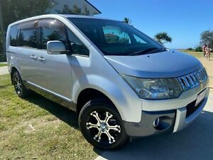 2007 Mitsubishi Delica D:5 Silver 5 Speed Auto Paddle Shift Wagon Tugun Gold Coast South Preview