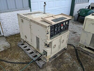 Mep-802a Military Diesel Generator 5kw 13 Phase Load Tested Onan