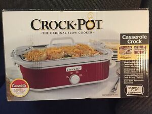 Casserole Crockpot Slow Cooker