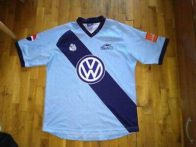 Puebla Mexico Away football shirt  camisa  2003-04 Atletica #2 S.Cabrera sz XL image