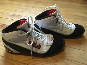 Fila - basketball shoes- youth size 5