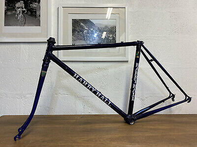 Harry Hall Steel Frame 49cm Reynolds 531c Competition Restored Columbus Dropouts