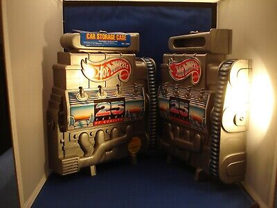 Mattel Hot Wheels Vintage 1992  25th Anniversary Engine car storage case