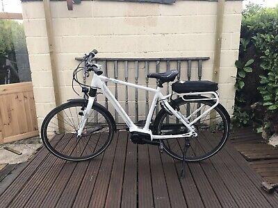 Electric bike: Giant, Prime E+, White, Mens, Large, Allux, Yamaha