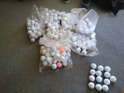 GOLF BALLS: 250 for $100 or 50 C each min purchase $20