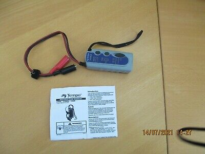 Tempo Greenlee ~ 77GX2 Tone Generator Electrical Wire Tester Tracer w/ 6A Clips
