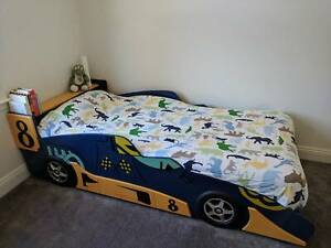 F1 Race Car Bed (incl MATTRESS if required)