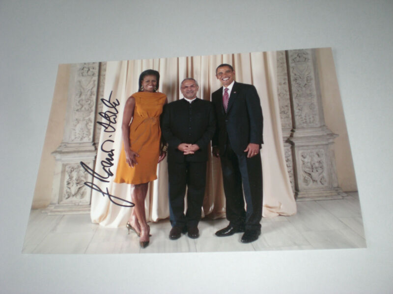 José Ramos-Horta Nobelprize signed autograph Autogramm 8x11 inch photo in person