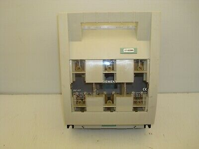 Siemens 3np 427 Disconnect Fuse Switch 250 Amp 400690 Ac 440 Dc V